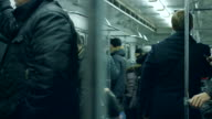 People in the subway. video