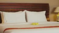 People, man, woman in resort, hotel room, having fun, leisure video