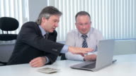People on business meeting. video