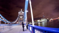 HD TIME LAPSE: People On The Tower Bridge video