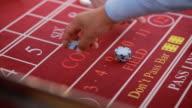 People play casino outdoor video