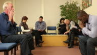 People sat in waiting room - Doctor, Hospital, dentist DOLLY video