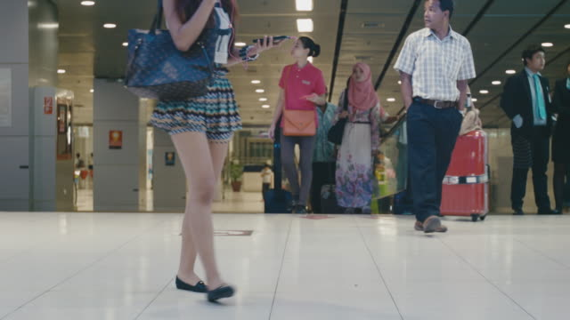 People Traveling at Subway Station video