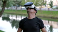 People Using Virtual Reality - Brief video