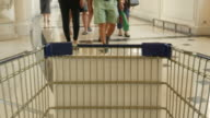 people walking area Shopping mall video