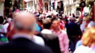 People Walking in the Crowd video