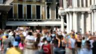 People walking in Venice video