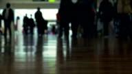 People Walking, Slow Motion video