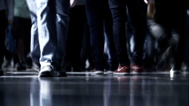 People walking video
