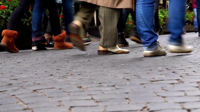 People Walking. video