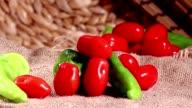 peperoni pomodori su juta video