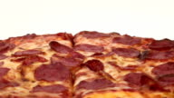 Pepperoni pizza seamless loop - HD video