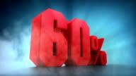 Percentage animation. 50% 60% 70% 80% 90% 100% video