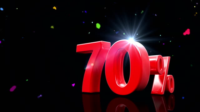 70 Percentage video