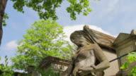 Pere Lachaise Cemetery, Paris, France video