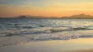 Perfect white Andaman sand beach video
