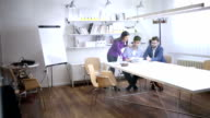 Person sneaking on a business meeting video