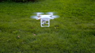 A personal drone landing video