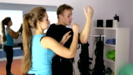 Personal ems training in the gym video