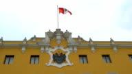 Peru Flag video