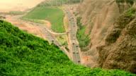 Peruvian cliff Road video