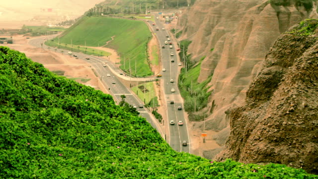 Peruvian cliff Road video