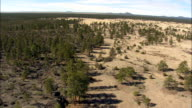 petaca plata wilderness study area - Aerial View - New Mexico,  Cibola County,  United States video
