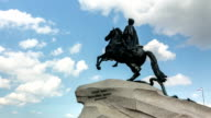 ZOOM: Peter The Great Statue, St. Petersburg, Russia video