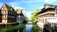 Petite France in Strasbourg, Realtime video