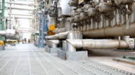 Petrochemical and refinery plant video