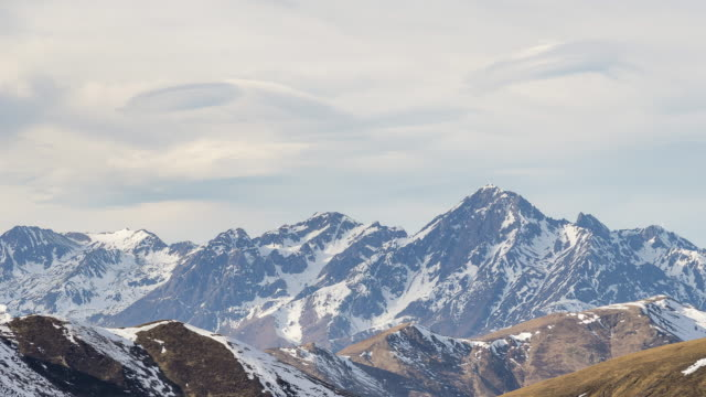 Peyragudes from Bagneres-de-Luchon (Zoomed), Pyrenees, France video