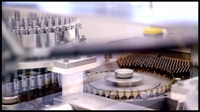 Pharmaceutical Manufacturing - Medical Ampules video
