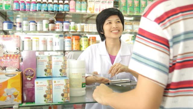 HD : Pharmacist and Customer video