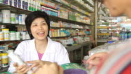 HD : Pharmacist and Customer video