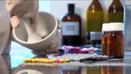 Pharmacist prepares treatment 2 video