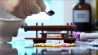 pharmacist prepares treatment 3 video