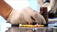 pharmacist prepares treatment 7 video
