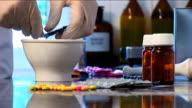 Pharmacist prepares treatment video