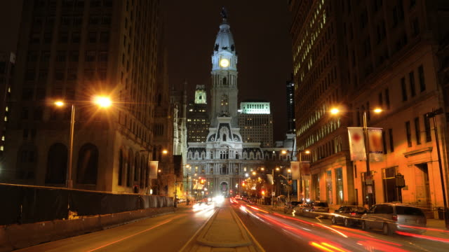 Philadelphia City Hall and Broad Street video