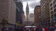 Philadelphia City Hall Hyperlapse video