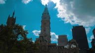 Philadelphia City Hall timelapse video