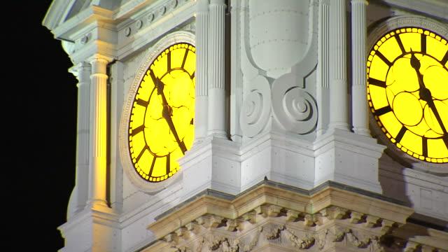 Philadelphia Clock Tower (1080/24P) video