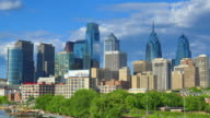 Philadelphia skyline video