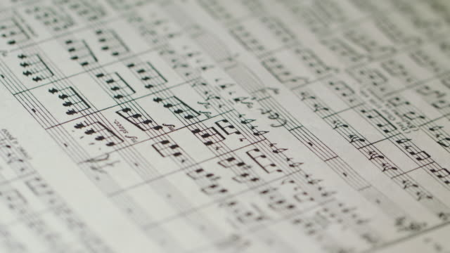 Philharmony Orchestra Conductor's Sheet Music video
