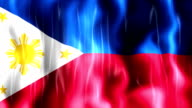 Philippines Flag Animation video