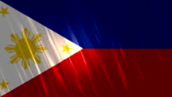 Philippines Flag Loopable Animation video