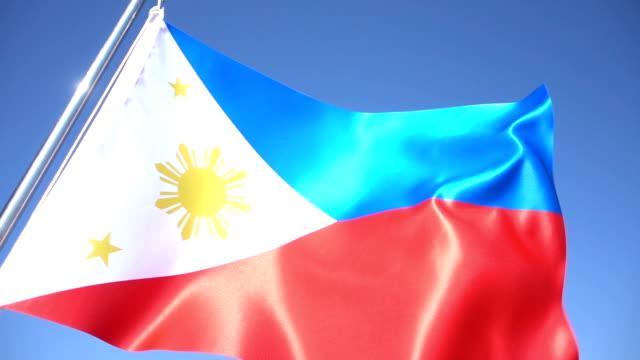 Philippines Flag video