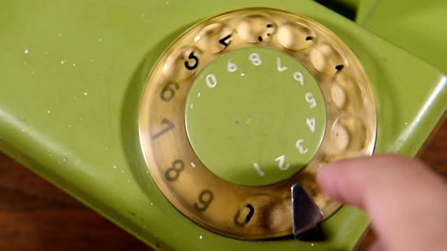phone number on vintage phone video