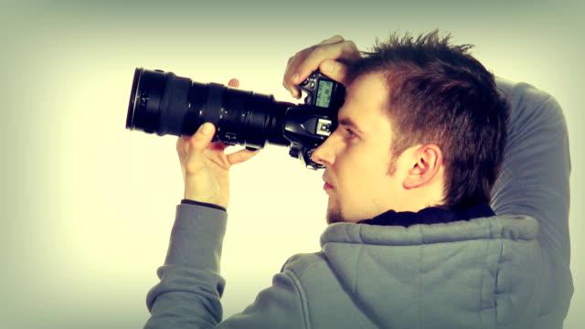 Photigrapher shooting video