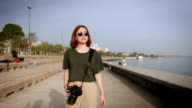 HD: Photographer at Coastline video